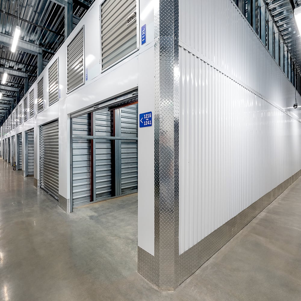 Interior of our facility at Security Self-Storage in Atlanta, Georgia