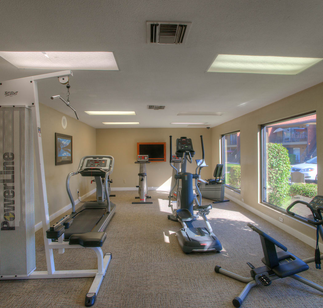 The community amenities here at Verona Park Apartments will delight you!