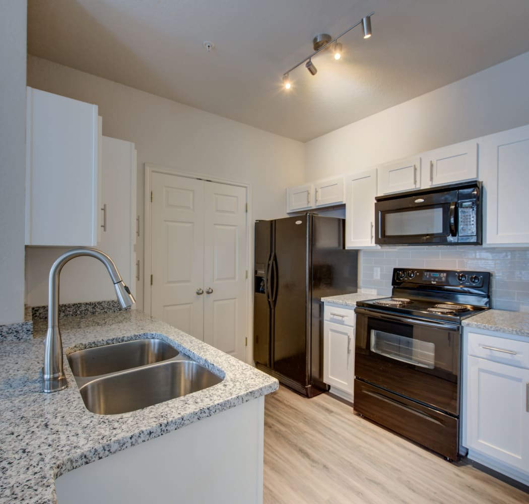 Kitchen at Ingleside Apartments in North Charleston, South Carolina