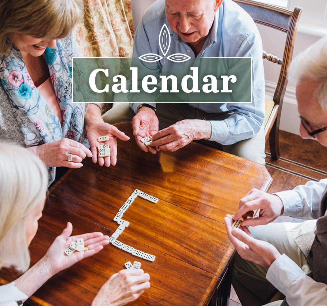 View our calendar to learn about activities for seniors in Parker, CO