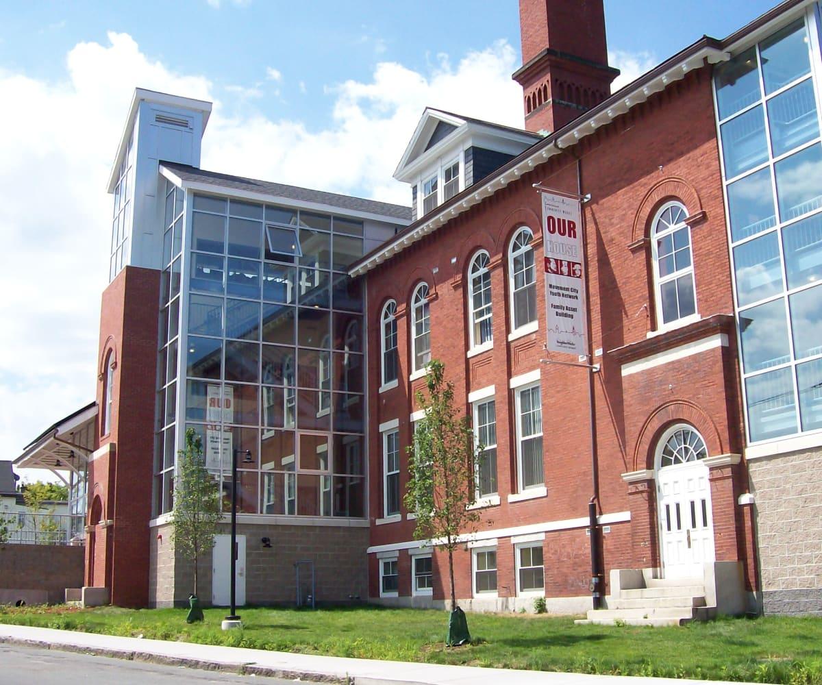 Commercial development near First Realty Management in Boston, Massachusetts