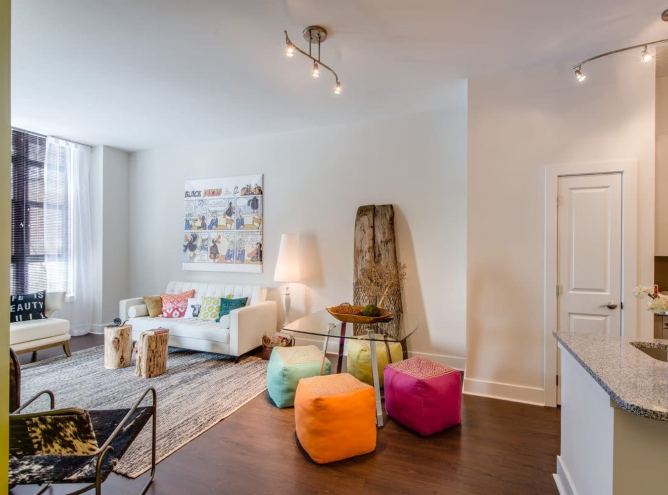 Comfortable Living Spaces in Unit at at  in Silver Spring, MD