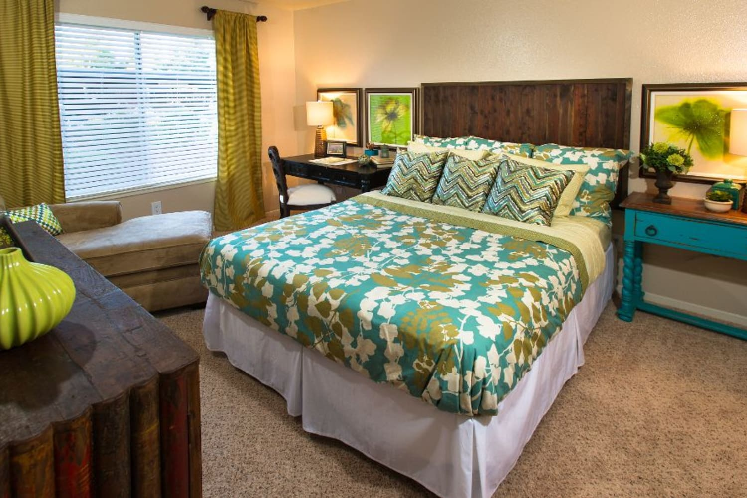 Enjoy your spacious new bedroom at Bridges at San Ramon in San Ramon, California