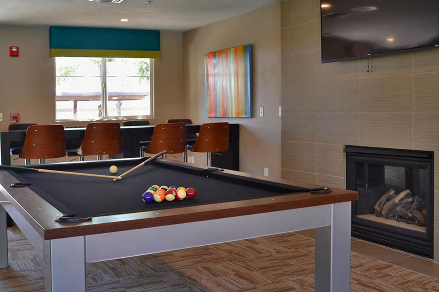 Pool table at 2150 Arizona Ave South in Chandler, Arizona