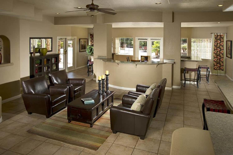 Comfortable living room at 3055 Las Vegas in Las Vegas, Nevada