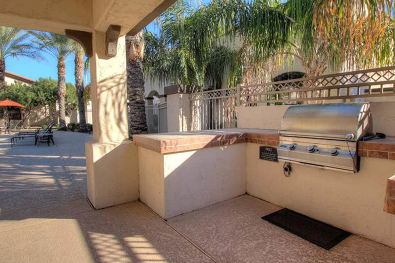Enjoy access to a barbecue at Dobson 2222 in Chandler, Arizona