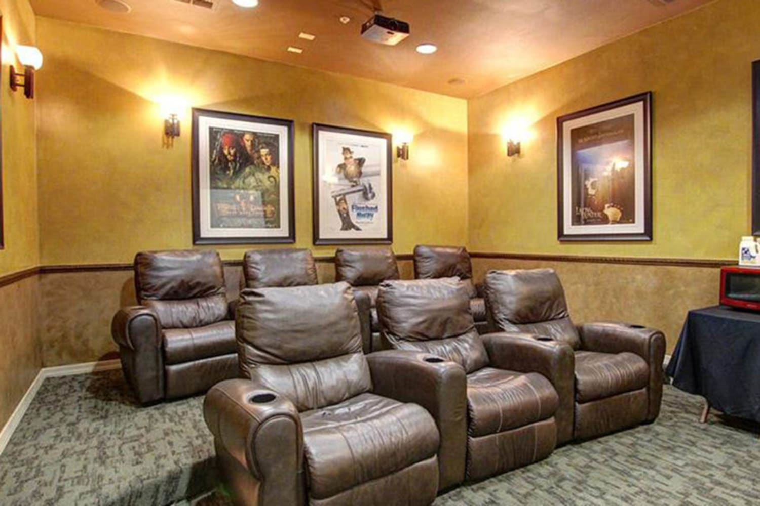 Enjoy having an onsite movie theater at Dobson 2222 in Chandler, Arizona