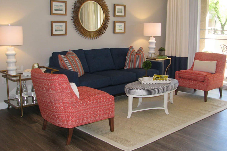 Ocotillo Bay Apartments in Chandler, Arizona, offer beautiful hardwood floors in living rooms