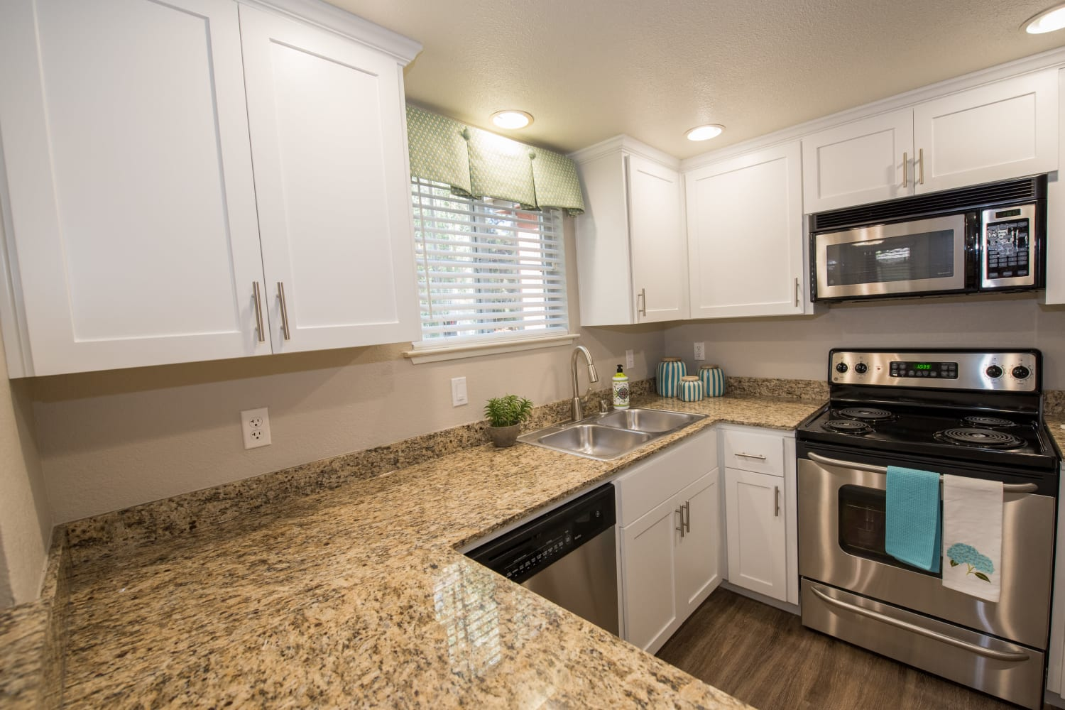 Enjoy loads of counter space at Bella Vista Apartments in Santa Clara, California