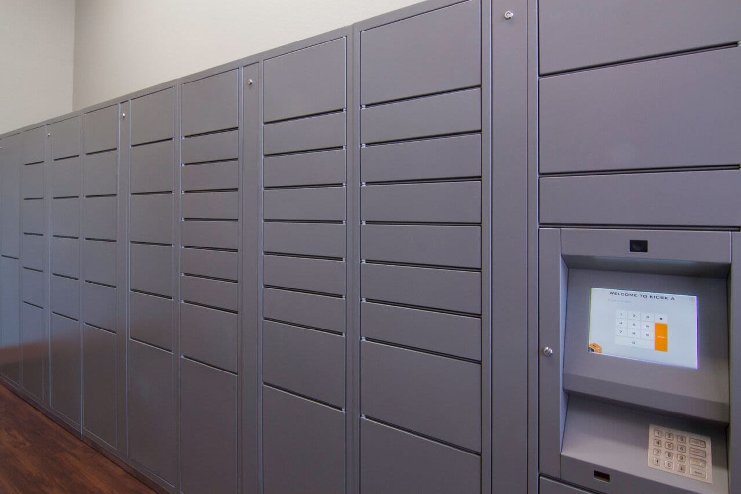 Enjoy the convenience of package receiving at Irving Schoolhouse Apartments in Salt Lake City, Utah