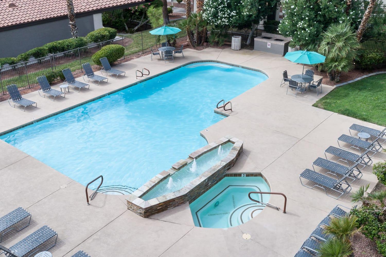 Swimming pool at 3055 Las Vegas in Las Vegas, Nevada