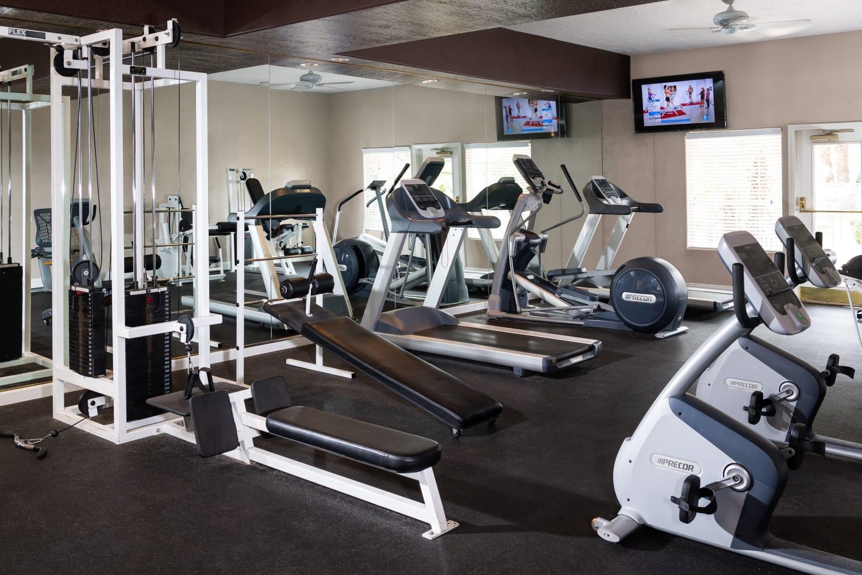 Fitness center at 3055 Las Vegas in Las Vegas, Nevada