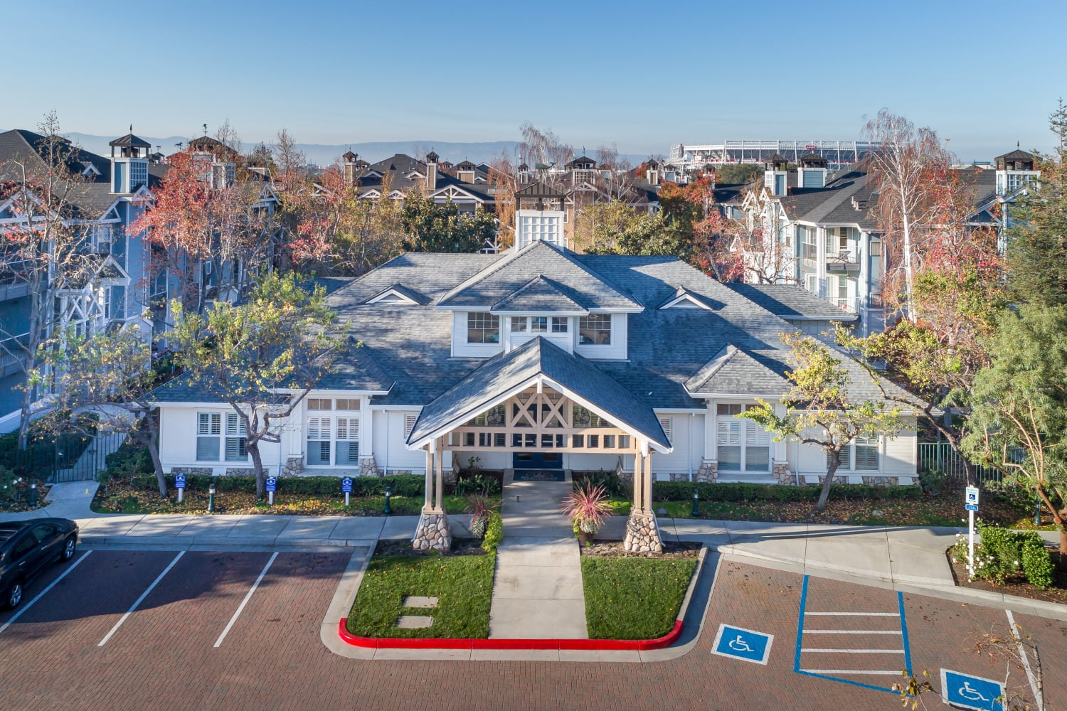 Ample parking at Nantucket Apartments in Santa Clara, California