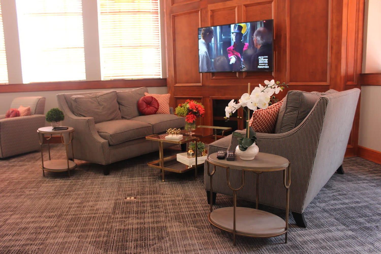 Enjoy a comfortable resident center at Irving Schoolhouse Apartments in Salt Lake City, Utah