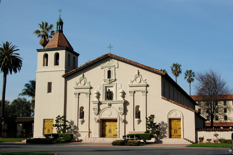 Nantucket Apartments in downtown Santa Clara, California, is close to Mission Santa Clara de Asís