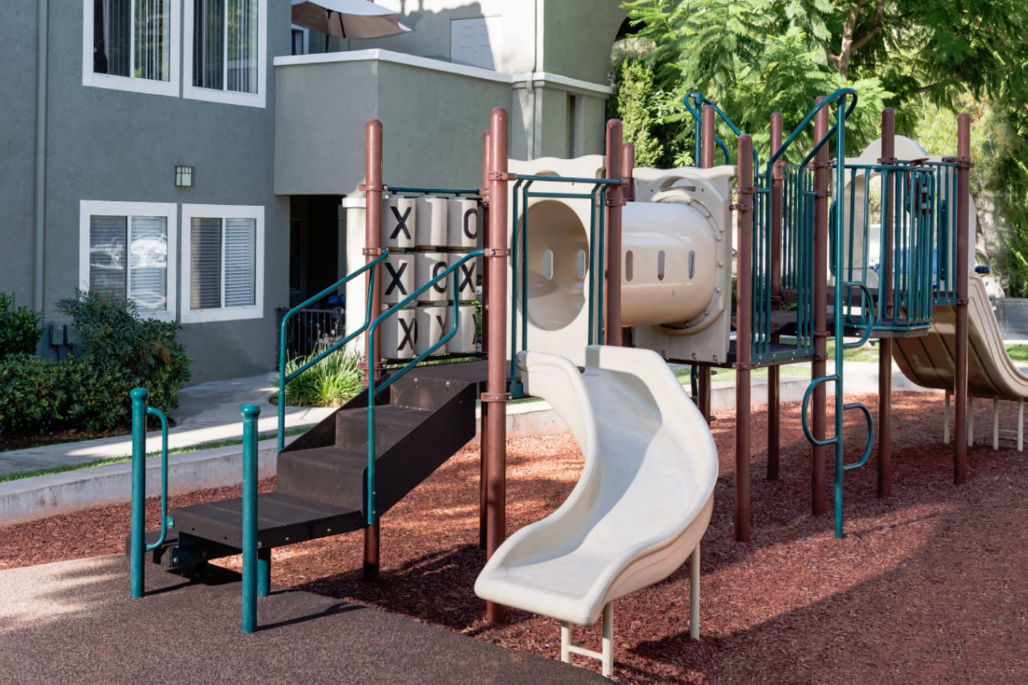 Madrid Apartments in Mission Viejo, California, offer an onsite playground