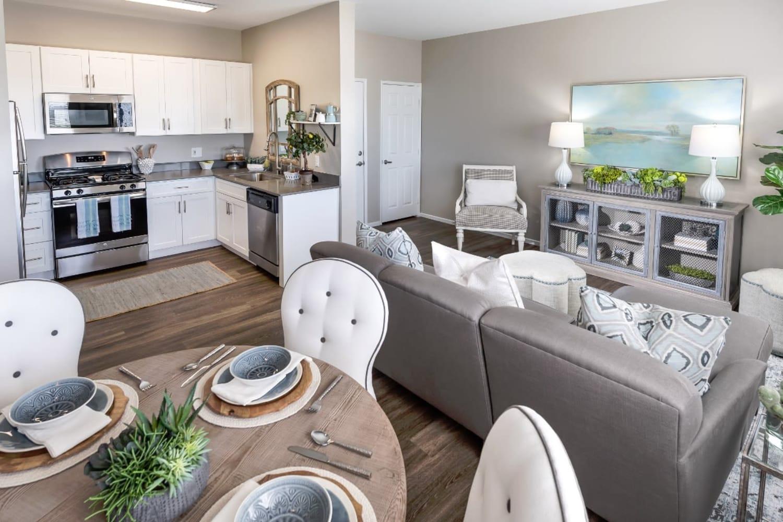 Madrid Apartments in Mission Viejo, California, offer bright interiors