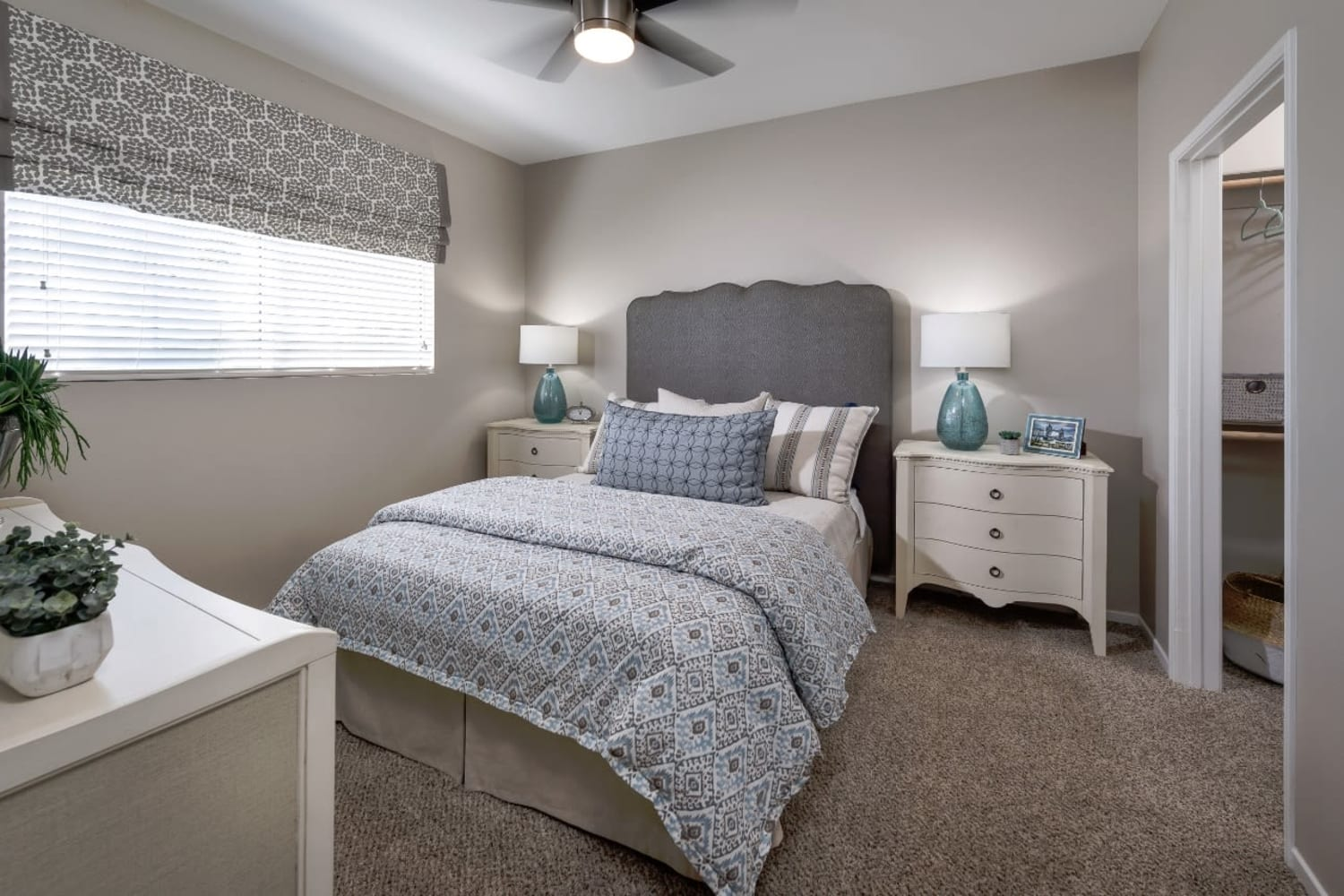 Madrid Apartments in Mission Viejo, California, offer large master bedrooms