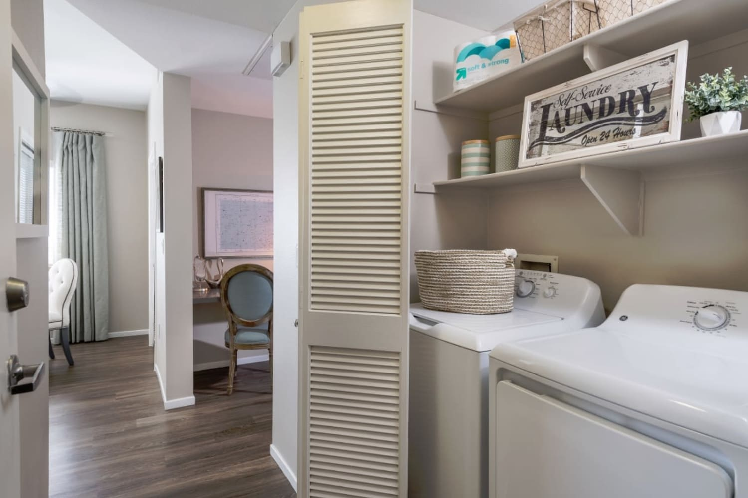 Madrid Apartments in Mission Viejo, California, offer in unit washer and dryers