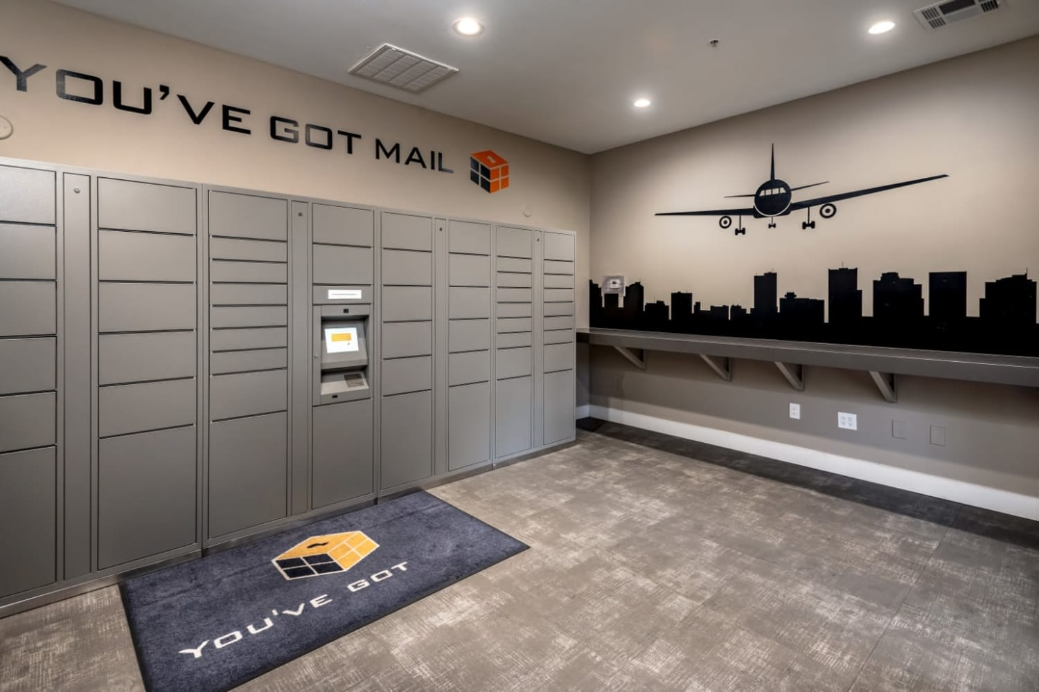 Package room at Dobson 2222 in Chandler, Arizona