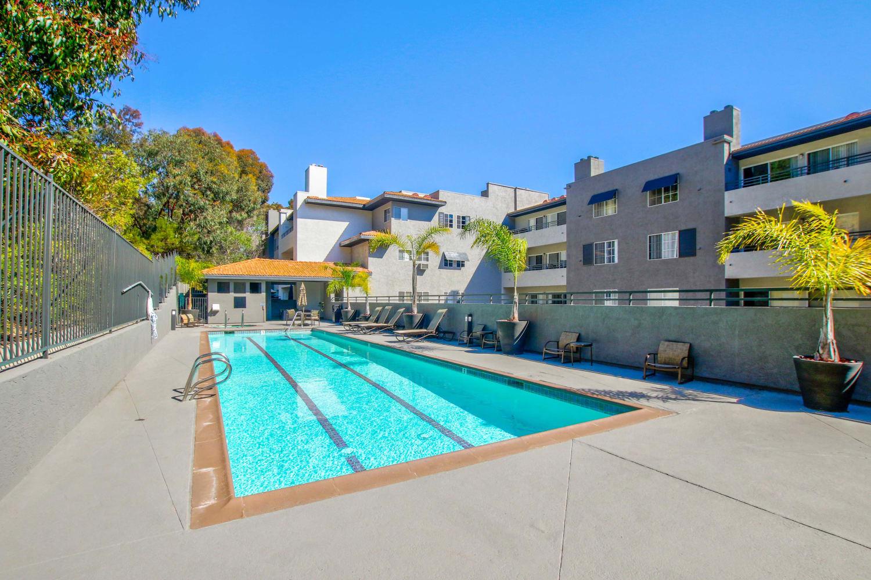 Fashion Terrace in San Diego, California, swimming pool