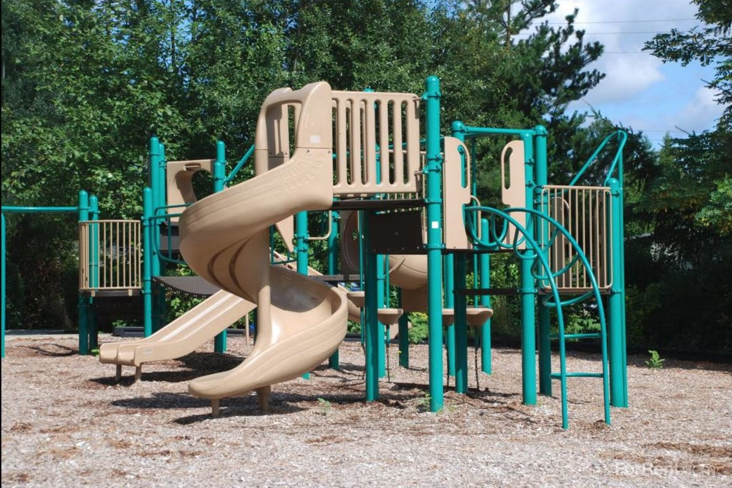 Onsite playground at The Knolls at Inglewood Hill in Sammamish, Washington
