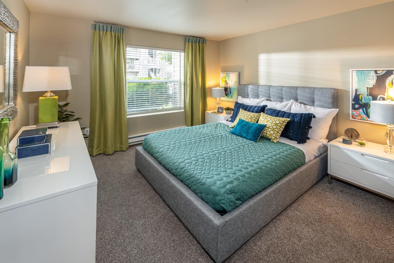 Bedroom at The Knolls at Inglewood Hill in Sammamish, Washington