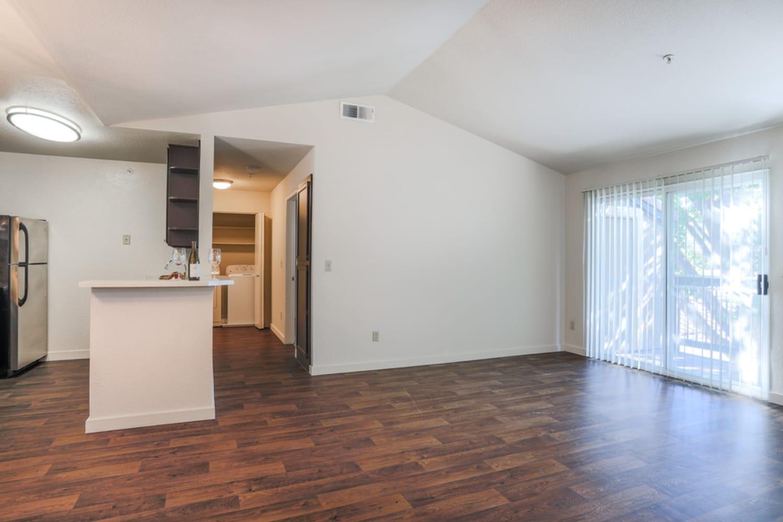 Living room at La Vina Apartments in Livermore, California