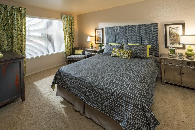 Enjoy your spacious new bedroom at Bridges at San Ramon in San Ramon, California