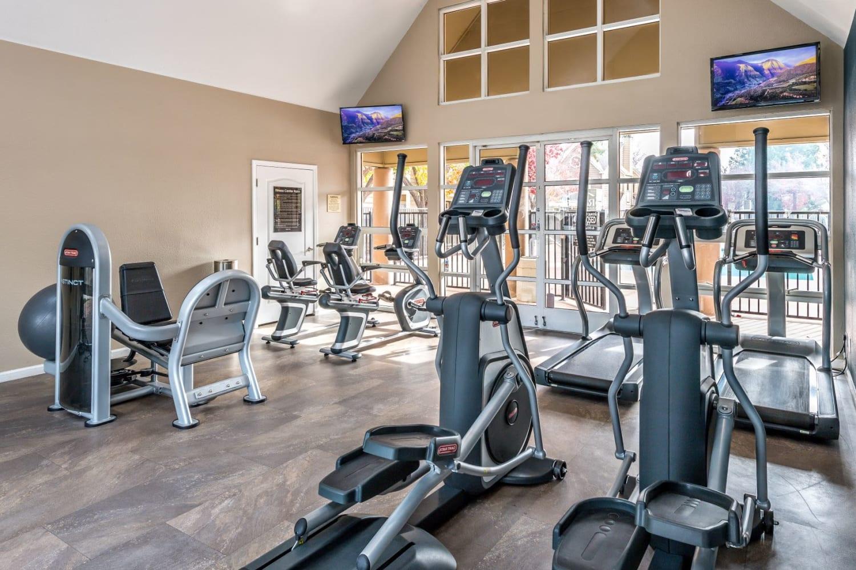 Resident gym at Bridges at San Ramon in San Ramon, California