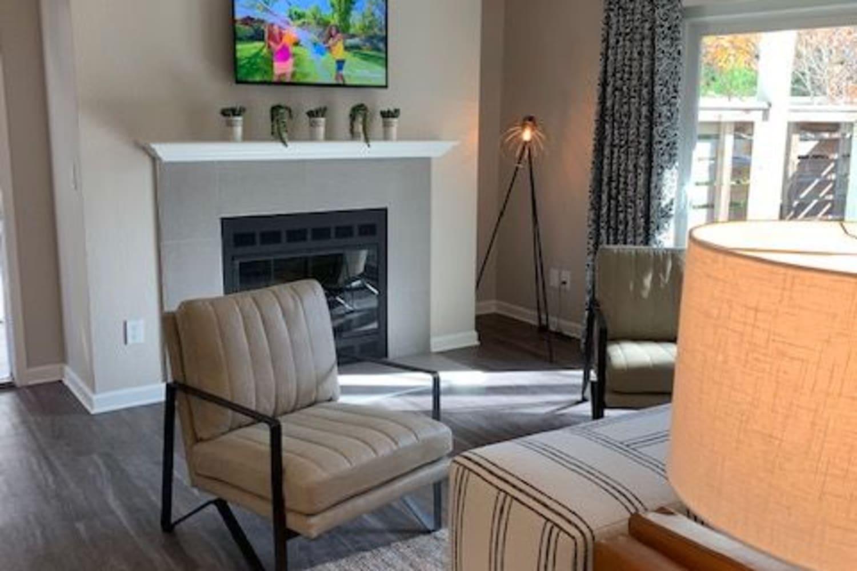 Beautiful Living Room at Apartments in Dublin, California
