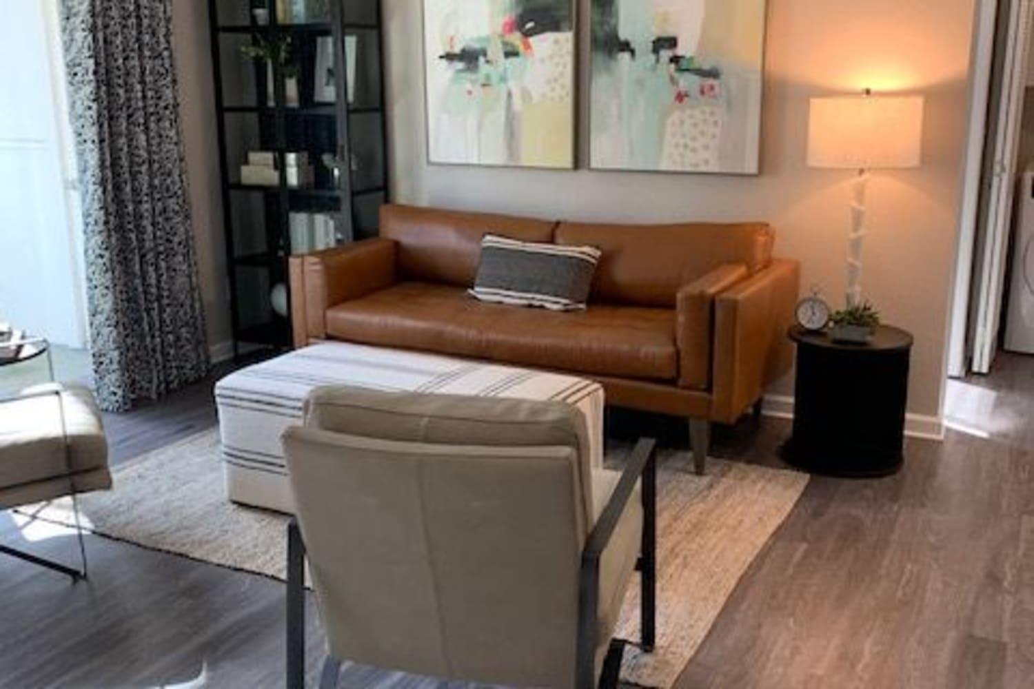 Enjoy Apartments with a Living Room at Cotton Wood Apartments