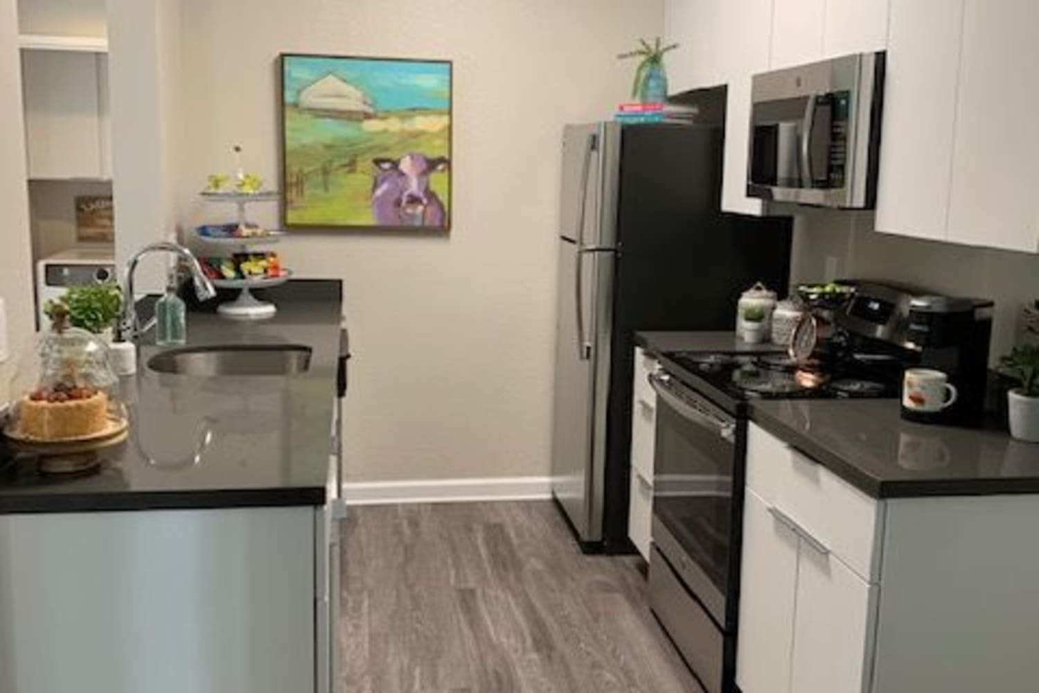 Cotton Wood Apartments offers a Beautiful Kitchen in Dublin, California