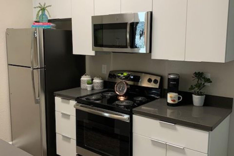 Enjoy a Beautiful Kitchen at Cotton Wood Apartments