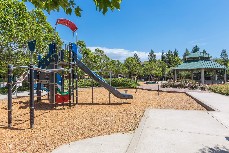 The play ground at Park Hacienda Apartments in Pleasanton, California