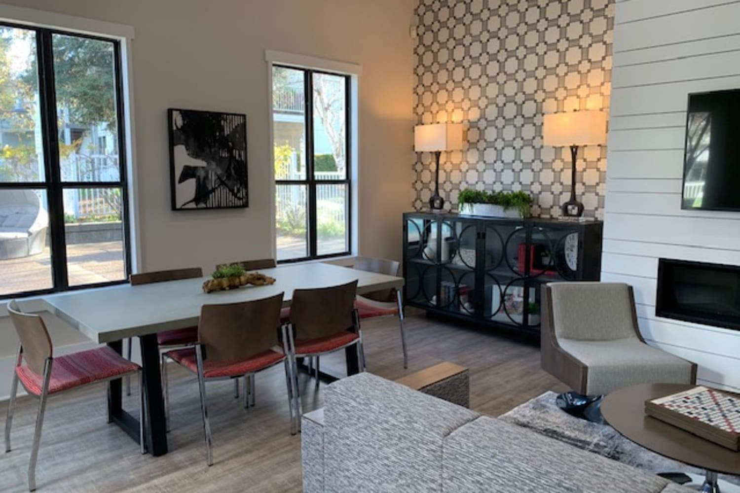 Beautiful Clubhouse at Cotton Wood Apartments in Dublin, California