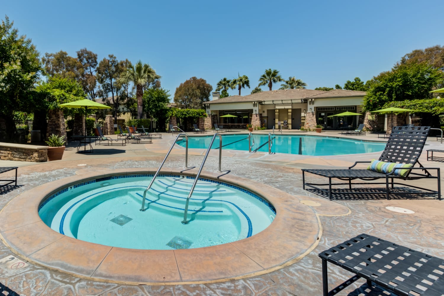 Camino Real offers a great pool