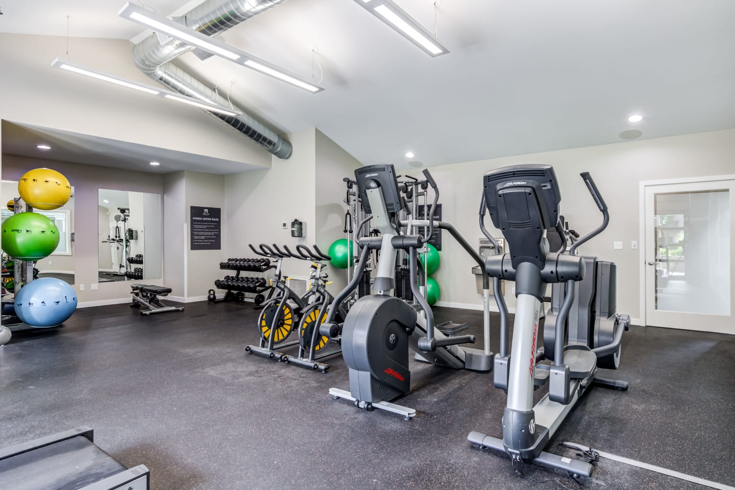 Enjoy Apartments with a Fitness Center at Campbell Run Apartments