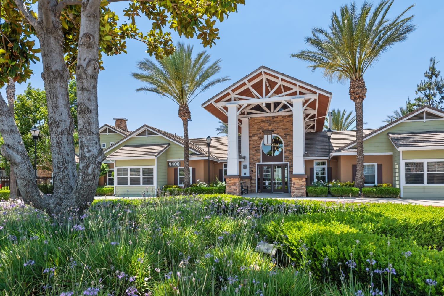 Entrance at The Village on 5th in Rancho Cucamonga, California