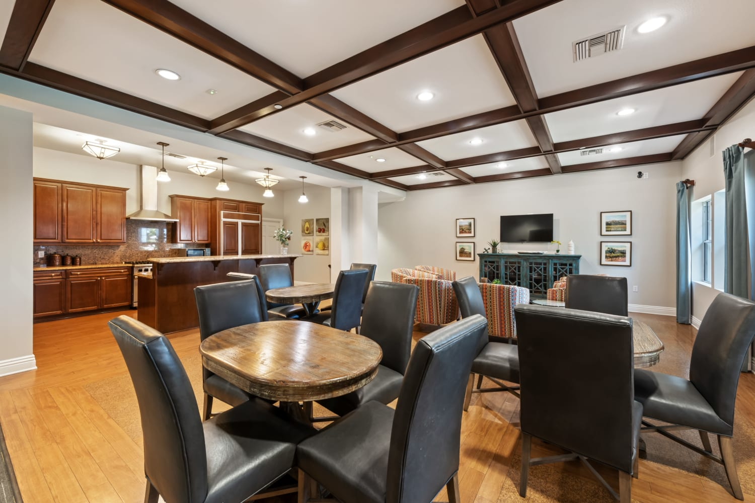The Village on 5th offers a Luxury Clubhouse in Rancho Cucamonga, California