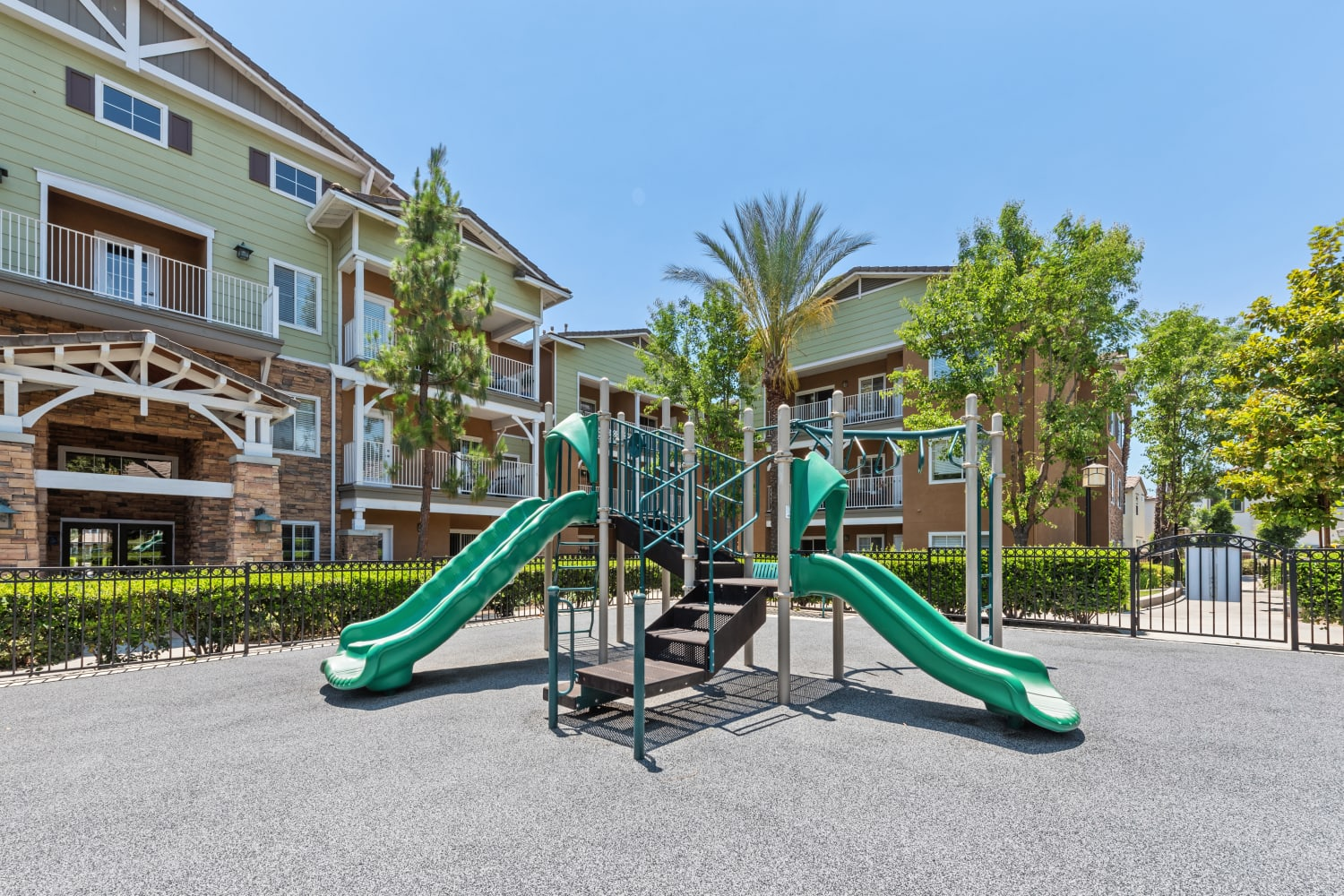 Beautiful Playground at The Village on 5th in Rancho Cucamonga, California