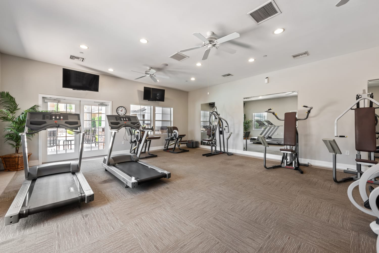 Fitness Center at The Village on 5th in Rancho Cucamonga, California
