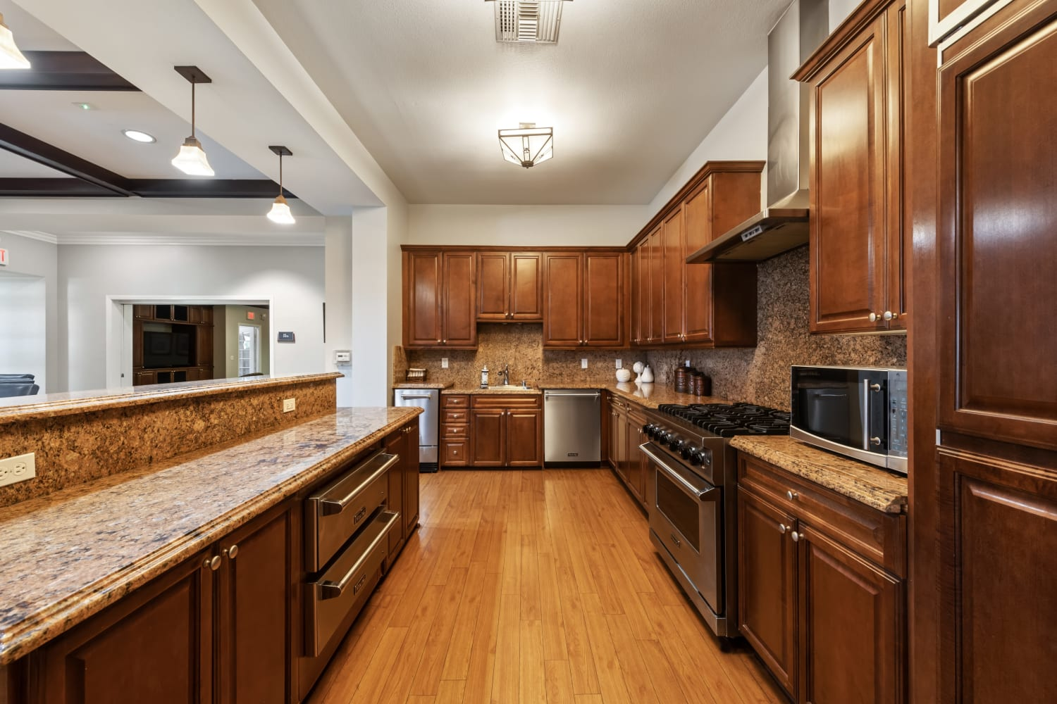 Luxury Kitchen at Apartments in Rancho Cucamonga, California