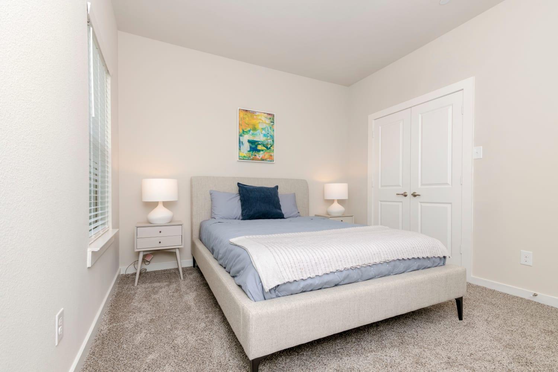 Cozy bedroom at Waxahachie, Texas