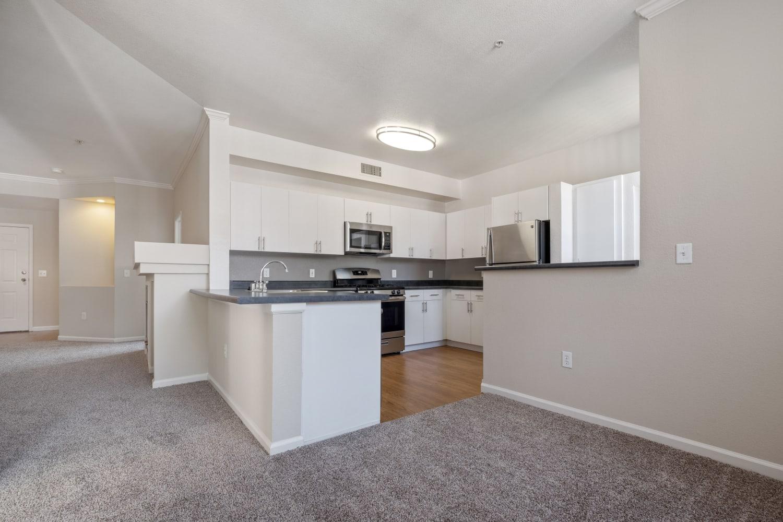 A sunlit apartment at Park Hacienda Apartments in Pleasanton, California