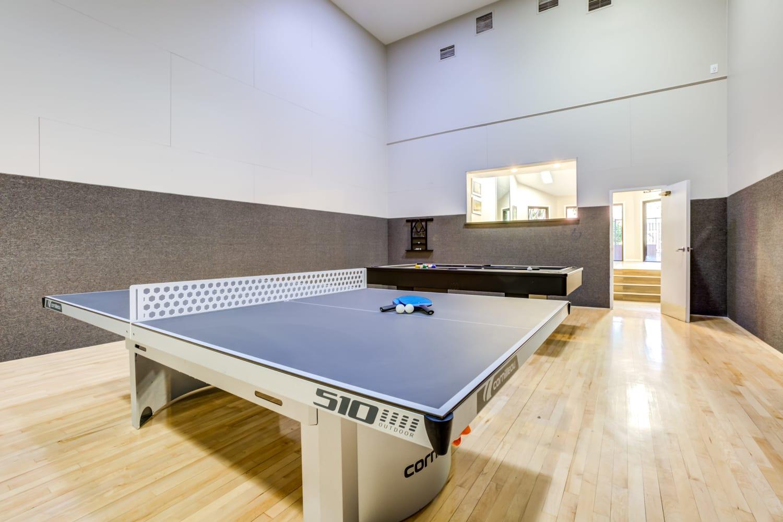 Ping pong table at Waterford Place Apartments in Mesa, Arizona
