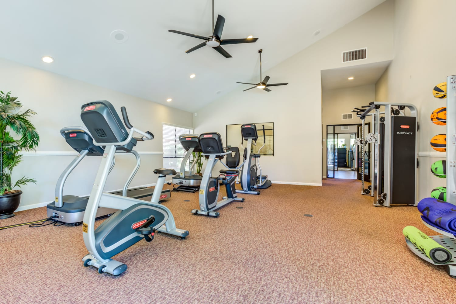 Fitness Center at Waterford Place Apartments in Mesa, Arizona