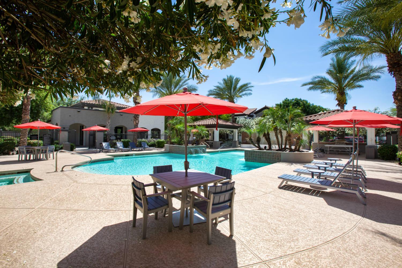 Pool at Dobson 2222