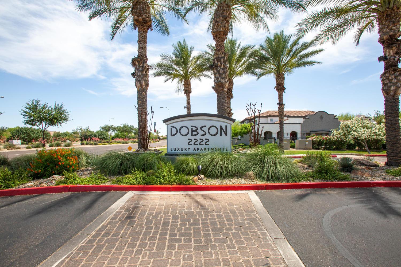 Exterior at Dobson 2222