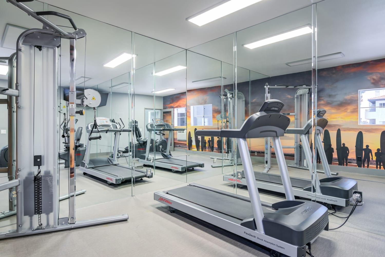 Gym at Fashion Terrace in San Diego, CA